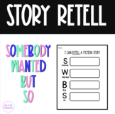 Retell Graphic Organizer (Somebody Wanted But So)