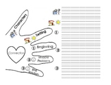 Retell Hand Graphic Organizer