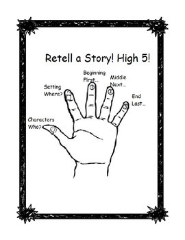 Retell High 5 with Story Chart