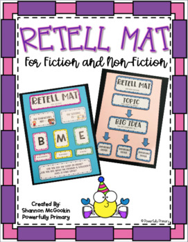 Retell Mat for Fiction and Non-Fiction