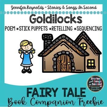 Retell Me A Story--Goldilocks Stick Puppets & Reader's Theater {FREEBIE}