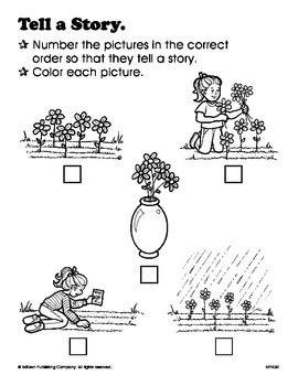 Retell Stories (CCSS RL.1.2)