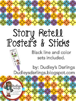 Story Retell Sticks & Poster