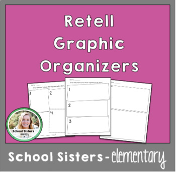 Retell Story Worksheet by Bee A Learner | Teachers Pay Teachers
