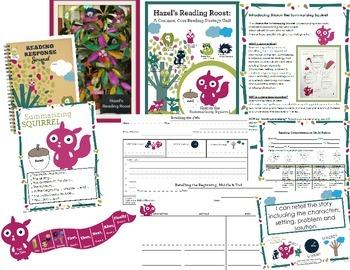 Retell Strategy Unit {Sharon Summarizing Squirrel}