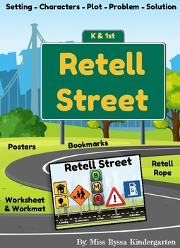 Retell Street - An ELA Retelling Bundle for Grades K-2