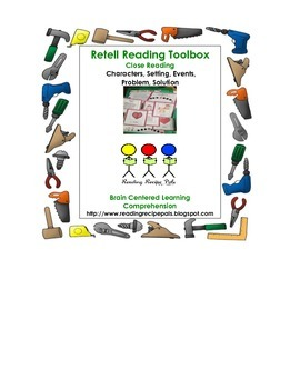 Retell Tool Box for After Reading Fiction