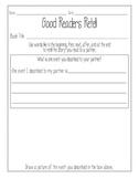Retell Worksheet