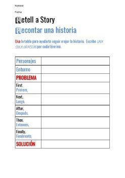 Retell a Story (Bilingual)
