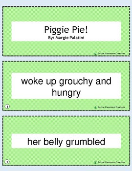 Retell and Sequence Cards: Piggie Pie!