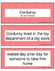 Retell and Sequencing Cards: Corduroy