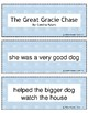 Retell and Sequencing Cards: The Great Gracie Chase