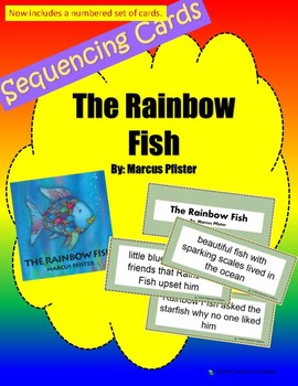 Retell and Sequencing Cards: The Rainbow Fish - First or Second Grade