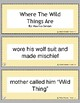 Retell and Sequencing Cards: Where The Wild Things Are- Grades 1 or 2