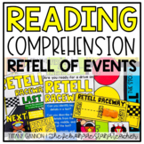 Retell of Events Using Key Details Activities