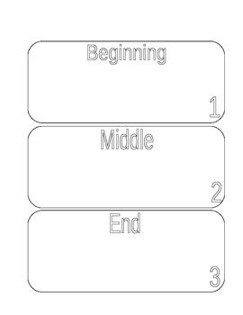 Retell story worksheets