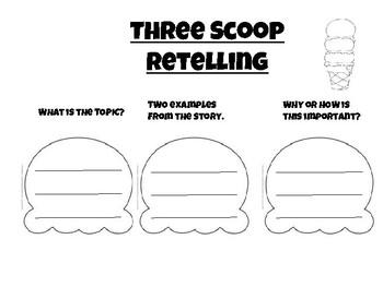 Retelling- 3 Scoops