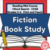 Fiction Mini-Course: Genre Study And Book Report CCSS Grades 3-6
