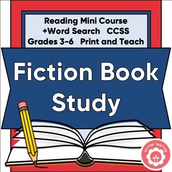 Fiction Mini-Course: Genre Study And Book Report CCSS Grades 3-6