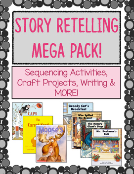Story Retelling Activities Mega Pack