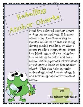 Retelling Anchor Charts