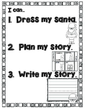 Retelling And Writing With Santa