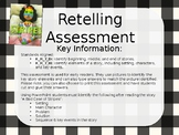 Retelling Assessment - A Bad Case of Stripes