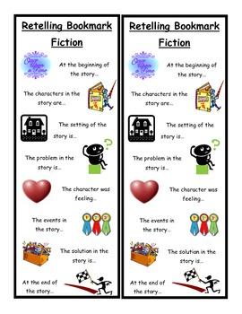 Retelling Bookmark - Fiction