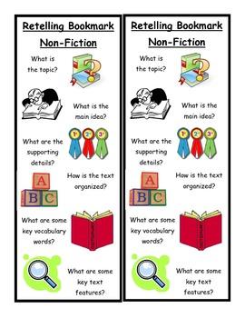 Retelling Bookmark - Nonfiction