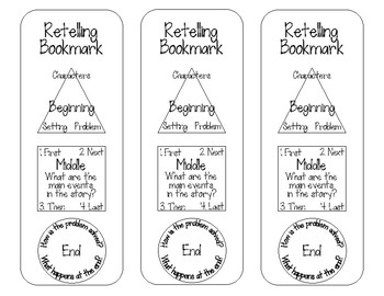 Retelling Bookmarks