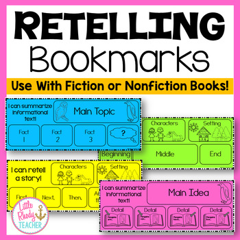 Retelling Bookmarks (Fiction and Nonfiction)