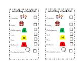 Retelling Checklist