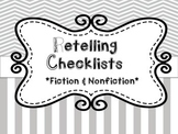Retelling Checklists for Students: Fiction & Nonfiction