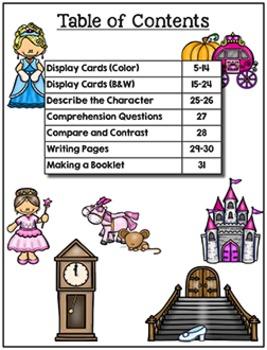 Retelling - Cinderella (Pre-K to Second)