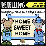 Retelling Country Mouse and City Mouse Storyboard Characte