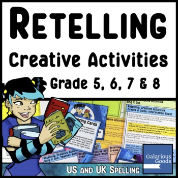 Retelling Creative Activities for Reading