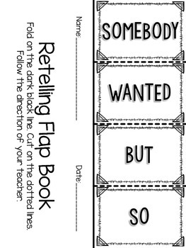 Retelling Flapbook