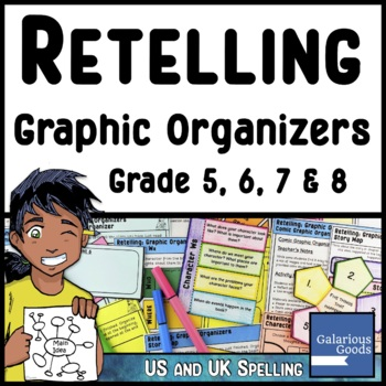 Retelling Graphic Organizers for Reading