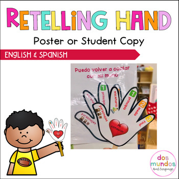 Retelling Hand-Anchor in English & Spanish