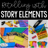 Retelling with Story Elements- Independent Reading Response Projects