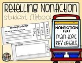 Retelling Nonfiction {Student Activity Flip Book}
