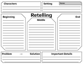 Retelling Organizer