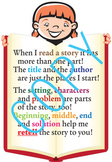 Retelling Poster & Poem for Reading/Language Arts