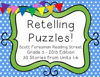 Retelling Puzzles version 1 - Reading Street 2013 Edition
