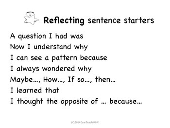Retell, Relate, Reflect The 3 R's