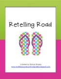 Retelling Road - 4 versions- Flip Flop Style