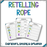 Retelling Rope: Story Elements Graphic Organizers