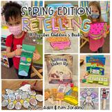 Retelling: Spring Edition By Kim Adsit and Kimberly Jordano (kinderbykim)