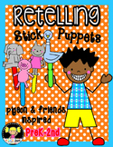 Retelling Stick Puppets {Pigeon & Friends Inspired}