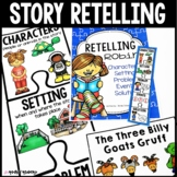 Retelling Stories Activities/Rubric/RTI Interventions